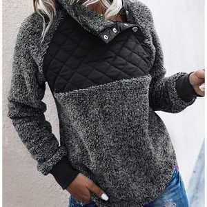 Fleece Sherpa Pullover